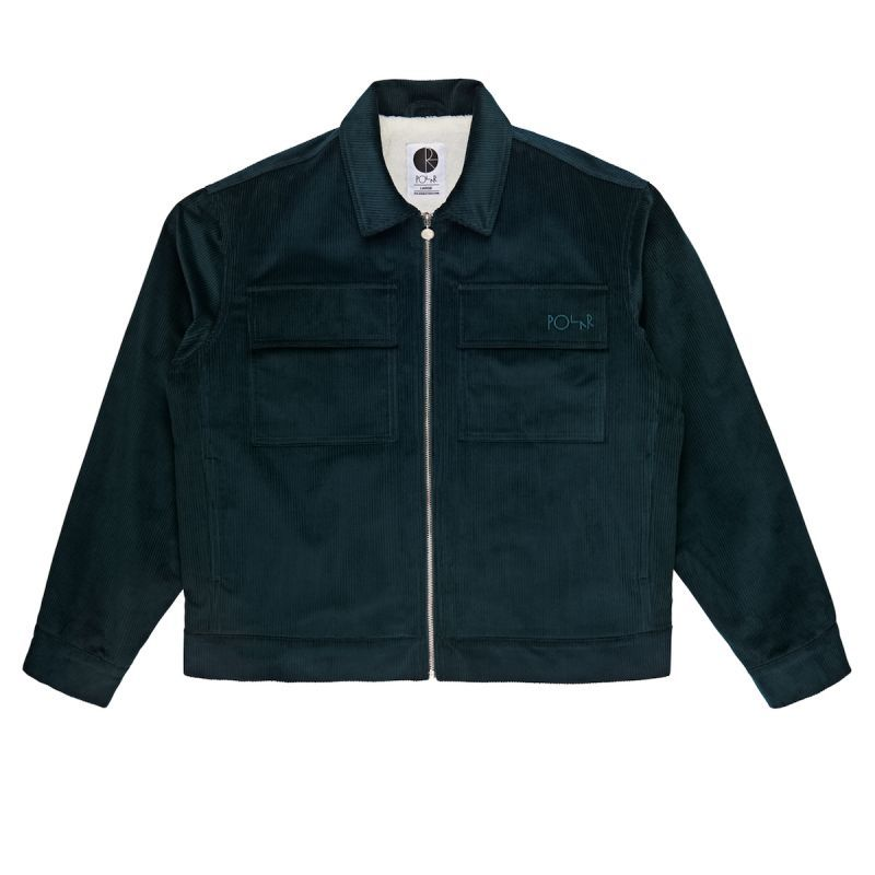 "画像1: POLAR SKATE CO. ""CORD JACKET"" - D.TEAL (1)"