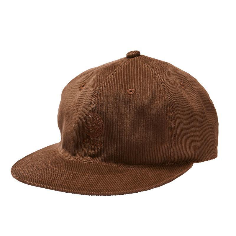 "画像1: EVISEN SKATEBORDAS ""WAKANDA CORD CAP"" - BROWN (1)"