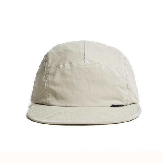 """画像1: HELLRAZOR """"NYLON SOLID CAMP CAP"""" - KHAKI (1)"""