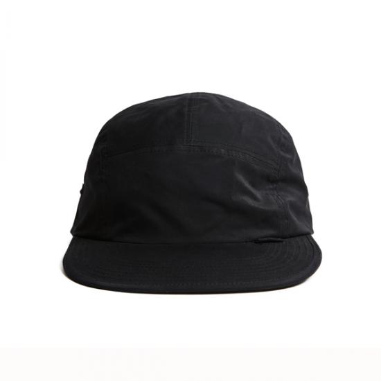 """画像1: HELLRAZOR """"NYLON SOLID CAMP CAP"""" - BLACK (1)"""