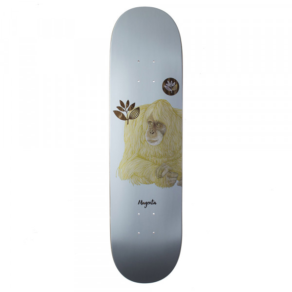 "画像1: MAGENTA SKATEBOARDS ""MONKEY BOARD"" - 8.0inch(デッキテープ付) (1)"