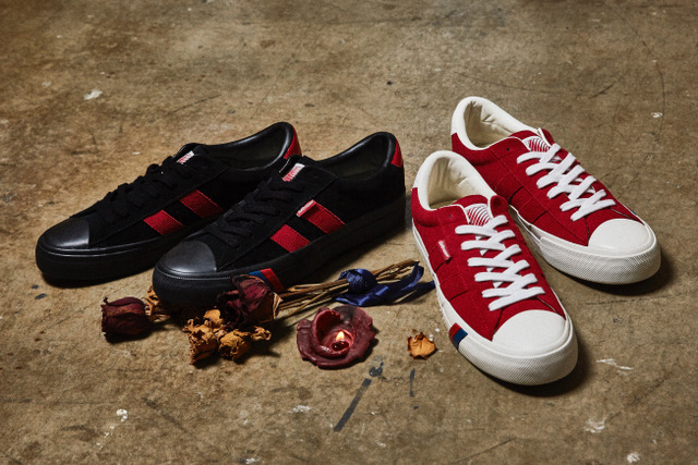 "画像1: HELLRAZOR ""Hellrazor x PRO-Keds Royal Plus B.A""- RED (1)"