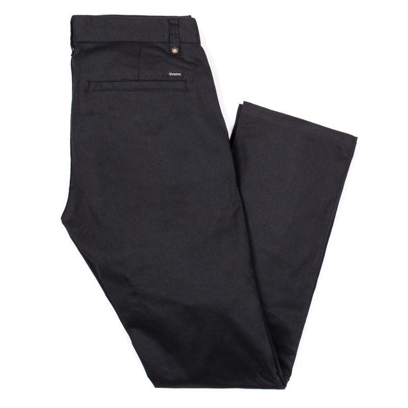 画像1: BRIXTON [ブリクストン] RESERVE CHINO PANT BLACK (1)
