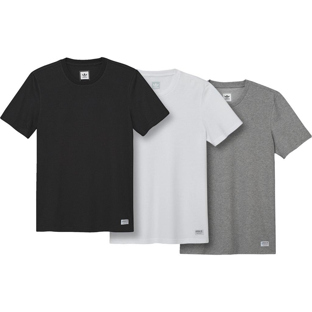 画像1: ADIDAS [アディダス]  3枚パック 半袖Tシャツ (1)