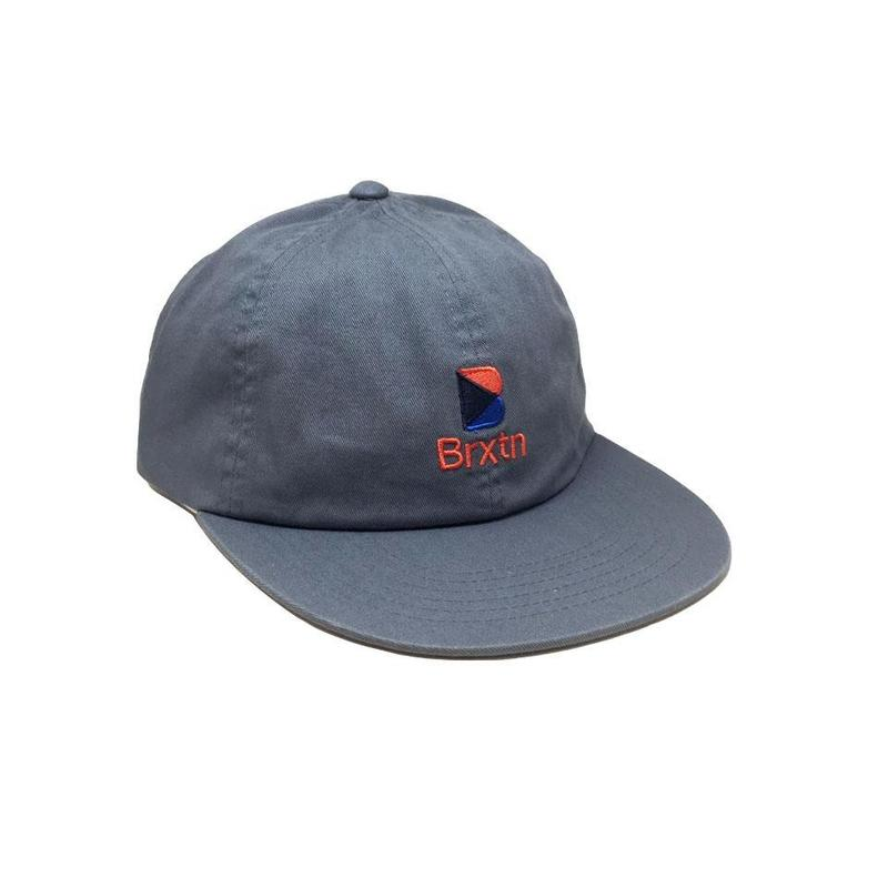 画像1: BRIXTON [ブリクストン] STWELL MP CAP STEEL BLUE (1)