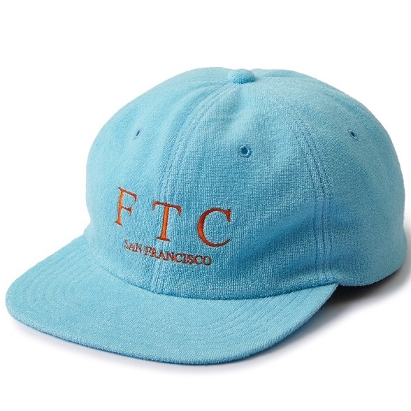 "画像1: FTC""TERRY 6 PANEL"" - BLUE (1)"