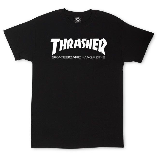 """画像1: THRASHER """"SKATE MAG TEE"""" - BLACK (1)"""
