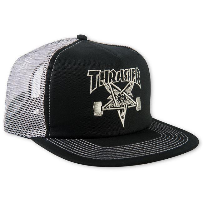 """画像1: THRASHER """"THRASHER SKATEGOAT MESH CAP"""" (1)"""