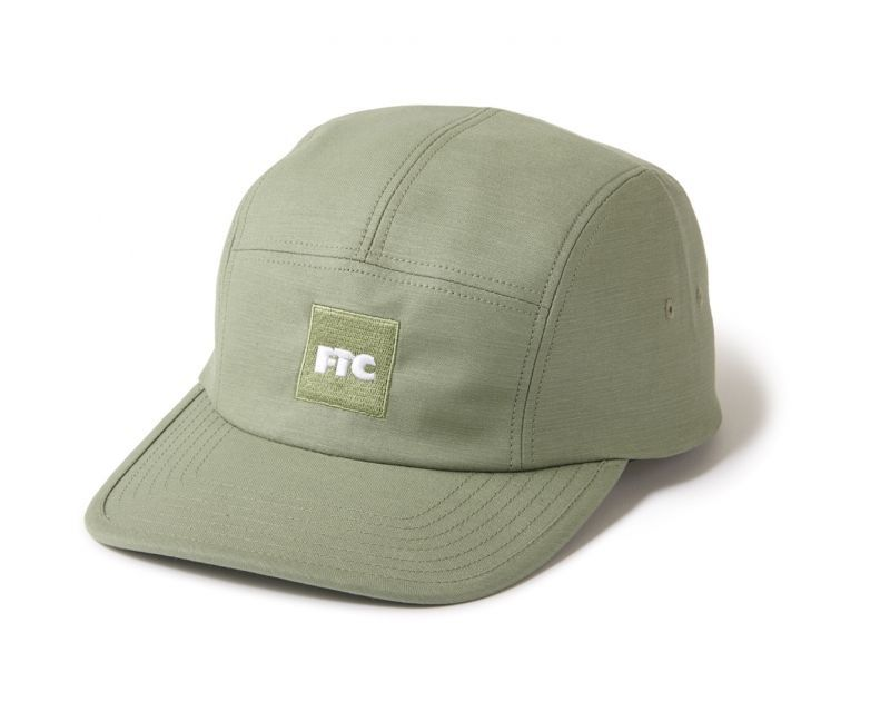"画像1: FTC ""MILITARY CAMP CAP"" - KHAKI (1)"