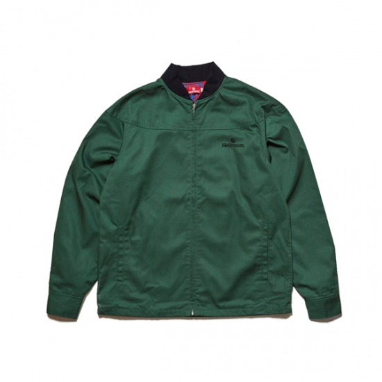 "画像1: HELLRAZOR "" CORE DERBY JACKET"" - OLIVE (1)"