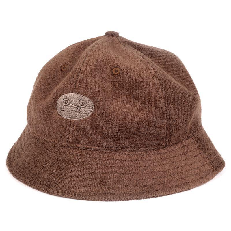 """画像1: PASS〜PORT. """"PILL BUCKET HAT"""" - BROWN (1)"""