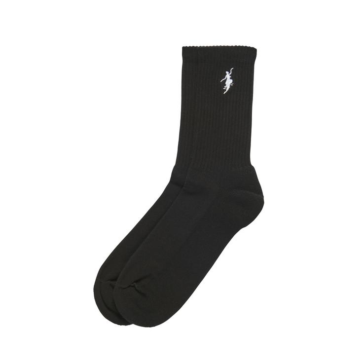 "画像1: POLAR SKATE CO. ""No Comply Socks""  - BLACK (1)"