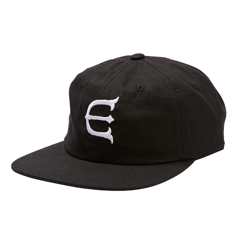 画像1: EVISEN  [エビセン]  E LOGO OG CAP - BLACK (1)