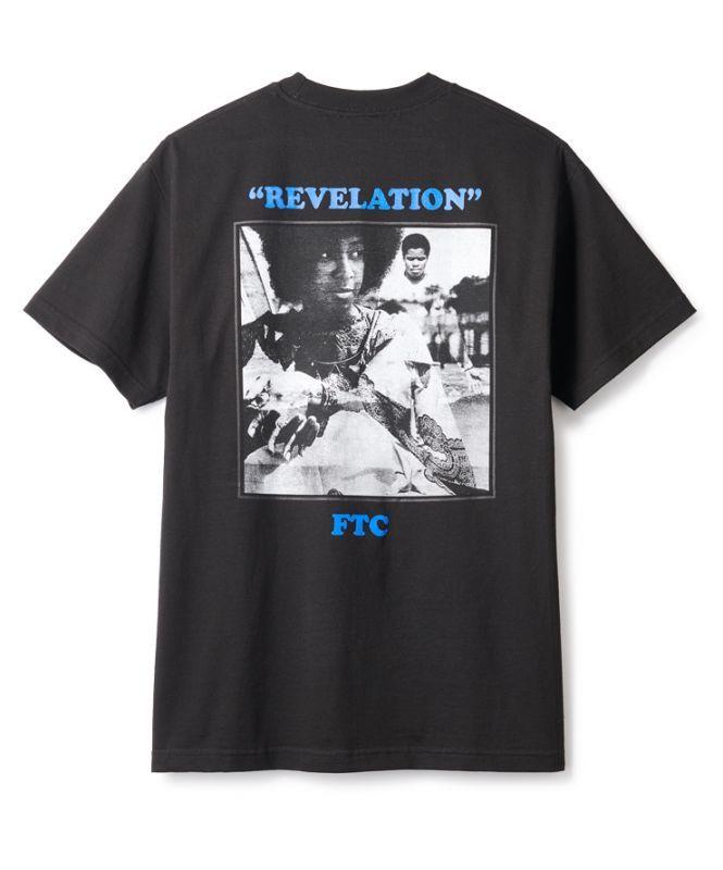 画像1: FTC [エフティーシー] REVELATION TEE - BLACK (1)
