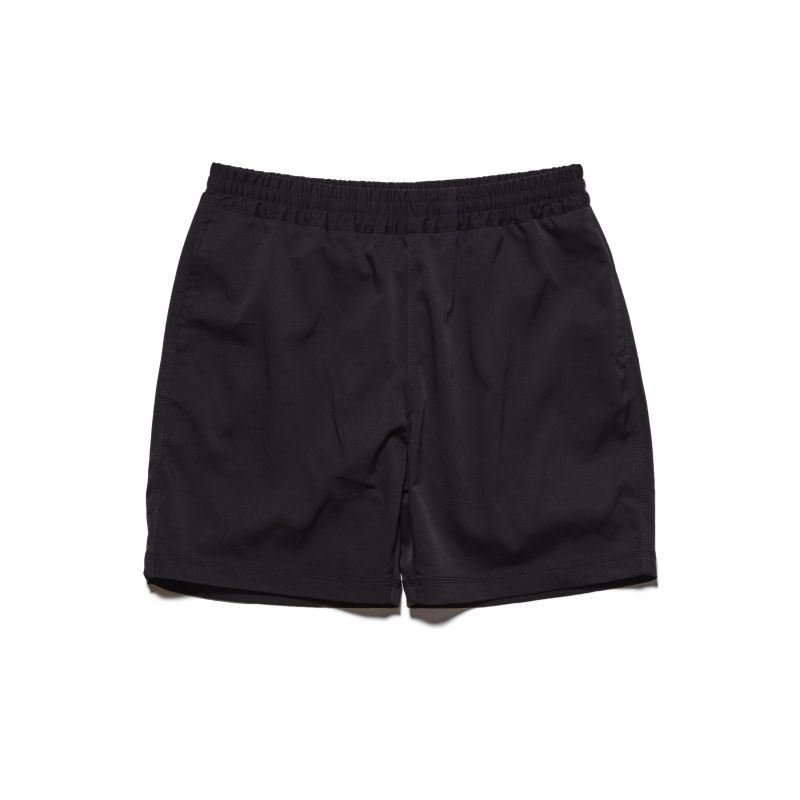 画像1: HELLRAZOR [ヘルレイザー] CHINO SWIM SHORTS BLACK (1)