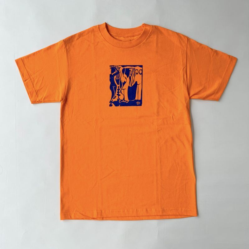画像1: THE KILLING FLOOR [ザ キリング フロア] TINO WOMEN TEE ORANGE (1)