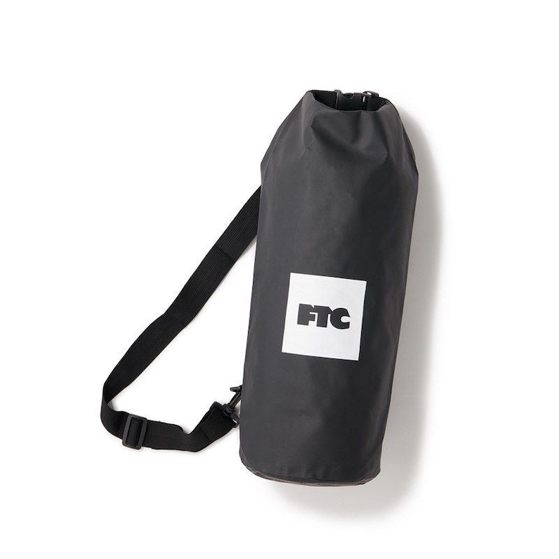 画像1: FTC [エフティーシー] WATERPROOF DRY BAG BLACK (1)