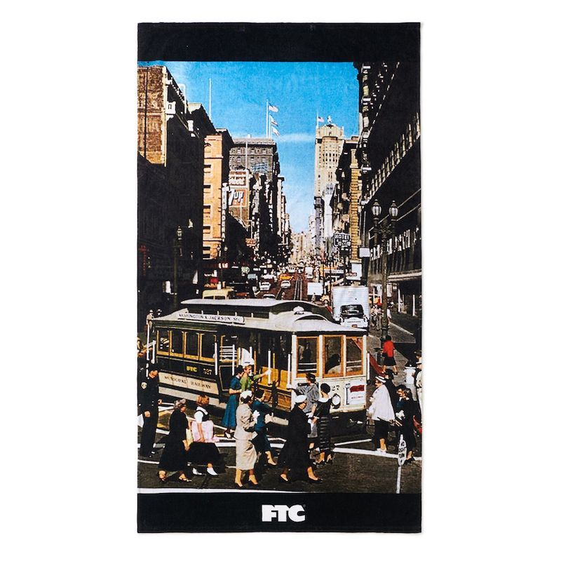 画像1: FTC [エフティーシー] CABLE CAR BEACH TOWEL (1)