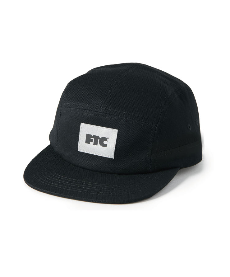 画像1: FTC [エフティーシー] SIDE PANEL CAMP CAP BLACK (1)
