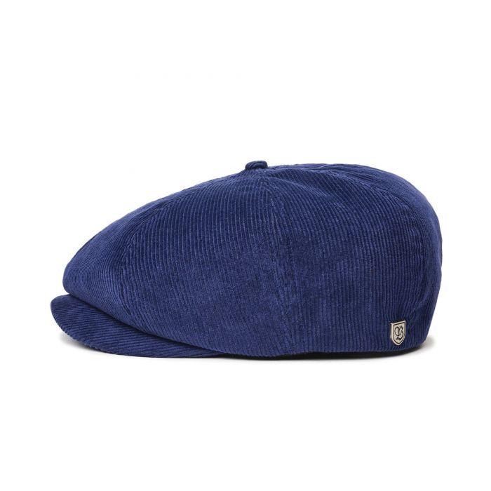 画像1: BRIXTON [ブリクストン] BROOD CORDUROY SNAP CAP PATRIOT BLUE (1)