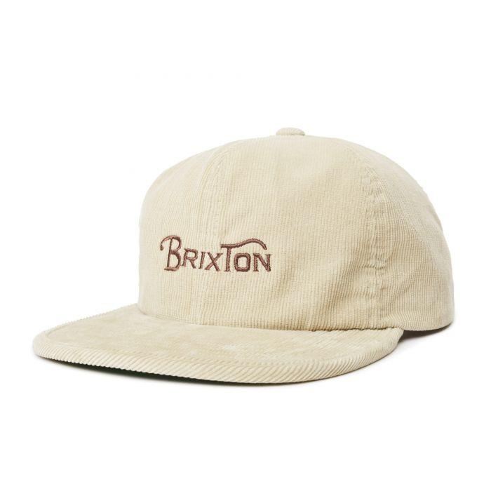 画像1: BRIXTON [ブリクストン] WHEELIE MP CAP VANILLA (1)