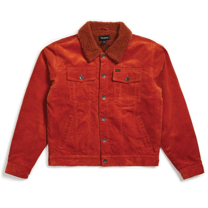 画像1: 【SALE】BRIXTON [ブリクストン]  CABLE SHERPA JACKET PICANTE (1)