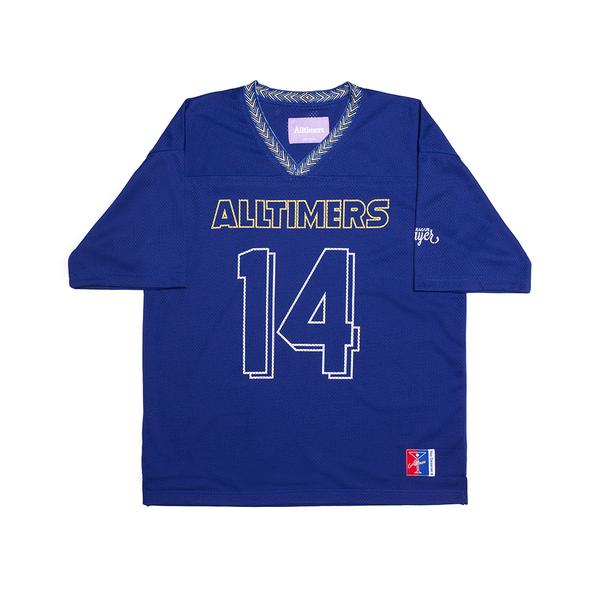 画像1: ALLTIMERS [オールタイマーズ]  WILD SHIT JERSEY ROYAL BLUE (1)