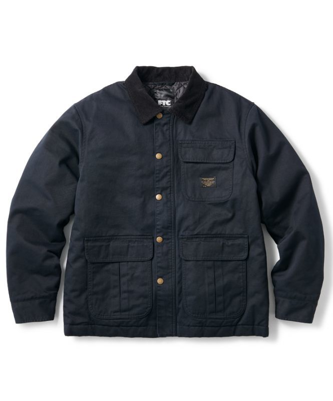 画像1: FTC [エフティーシー] HUNTING FIELD JACKET BLACK (1)
