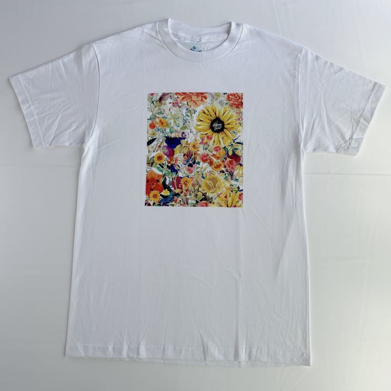 画像1: THE KILLING FLOOR [ザ キリング フロア] WILDFLOWER TEE WHITE (1)