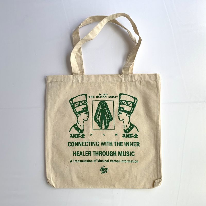 画像1: THE KILLING FLOOR [ザ キリング フロア] INNER HEALER CANVAS TOTE NATURAL&GREEN (1)