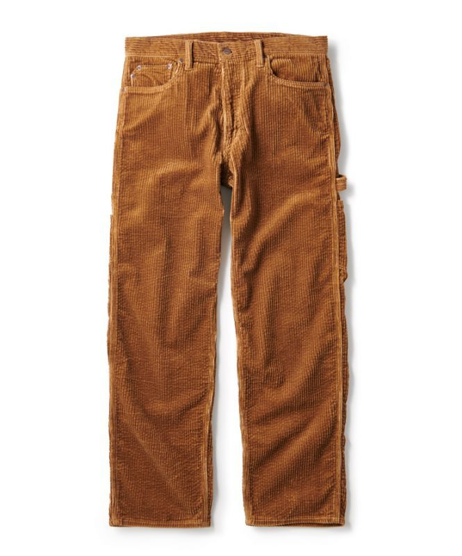 画像1: FTC [エフティーシー] CORDUROY PAINTER PANT BROWN (1)