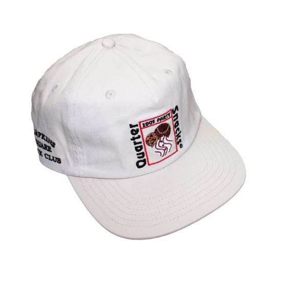 画像1: QUARTERSNACKS [クウォータースナックス] PARTY CAP WHITE  (1)
