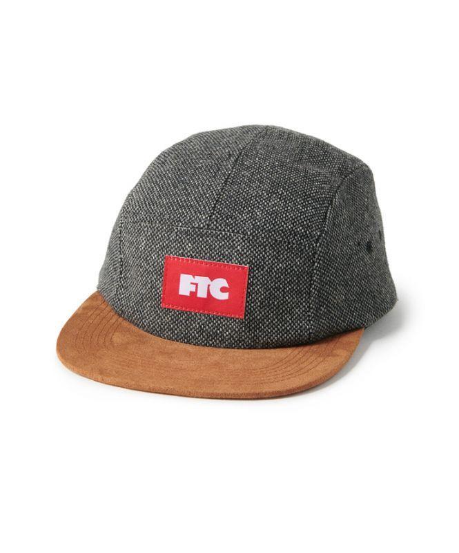 画像1: FTC [エフティーシー] TWEED CAMP CAP CHARCOAL (1)