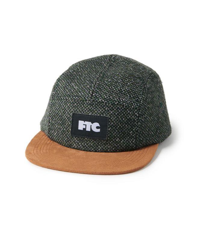 画像1: FTC [エフティーシー] TWEED CAMP CAP OLIVE (1)