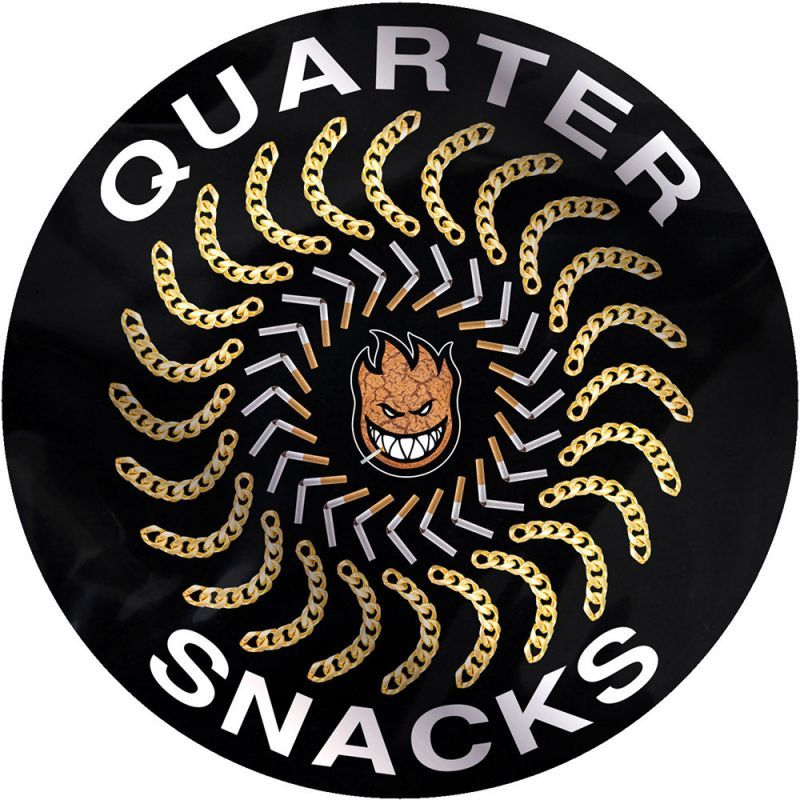 画像1:  SPITFIRE x QUARTERSNACKS SNACKMAN CLASSIC STICKER (1)