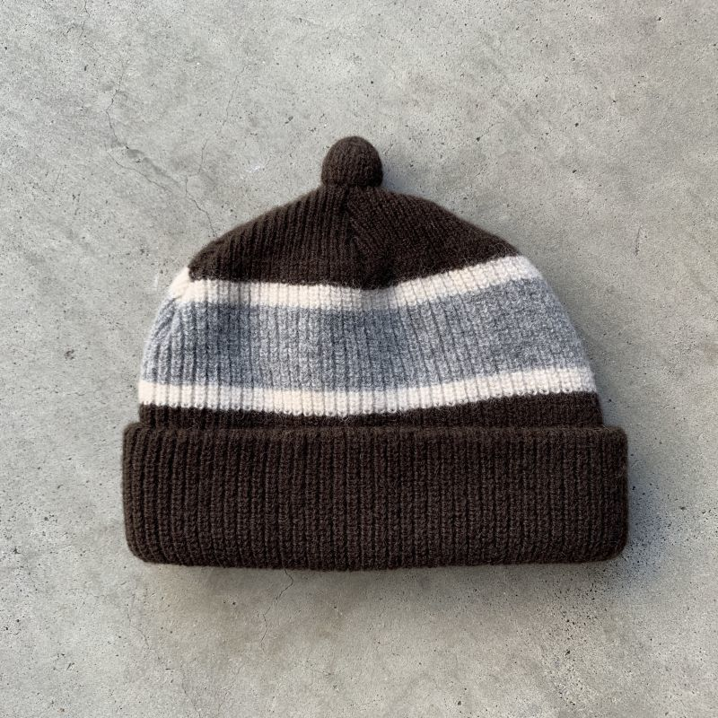 画像1: NOROLL [ノーロール]  GERMINATE BEANIE BROWN (1)