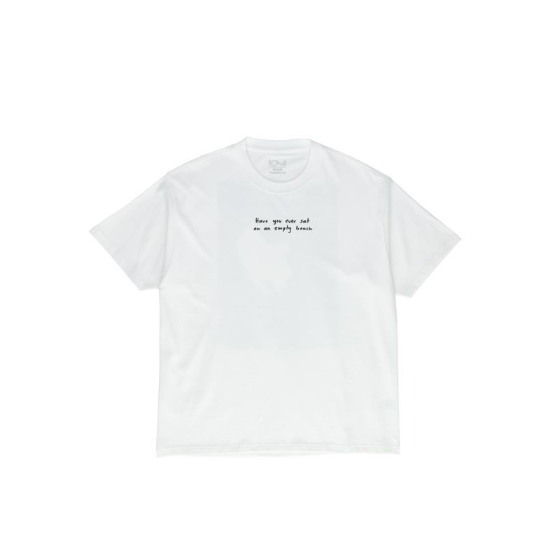 画像1: POLAR SKATE CO. [ポーラースケート] THE CRY TEE - WHITE (1)