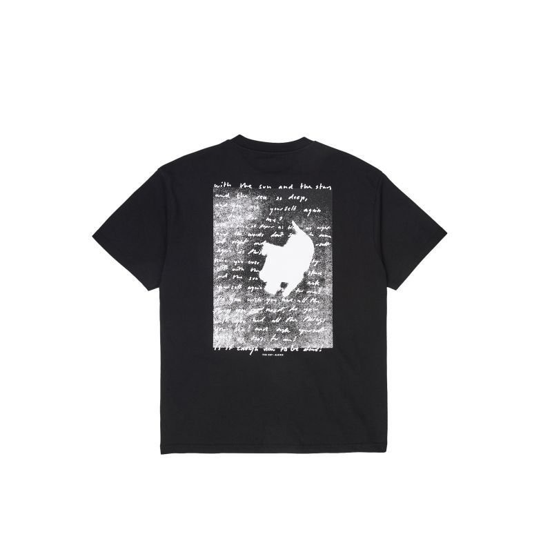 画像1: POLAR SKATE CO. [ポーラースケート] THE CRY TEE - BLACK (1)