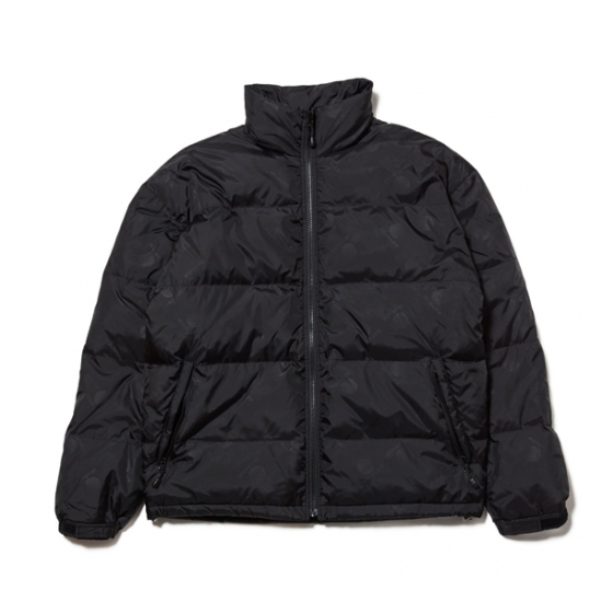 画像1: HELLRAZOR [ヘルレイザー] SPORTS DOWN JACKET - BLACK (1)