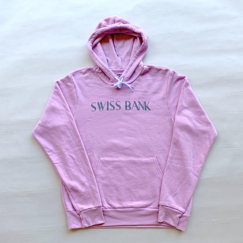 画像1: SWISS BANK / HOODIE - LILAC (1)