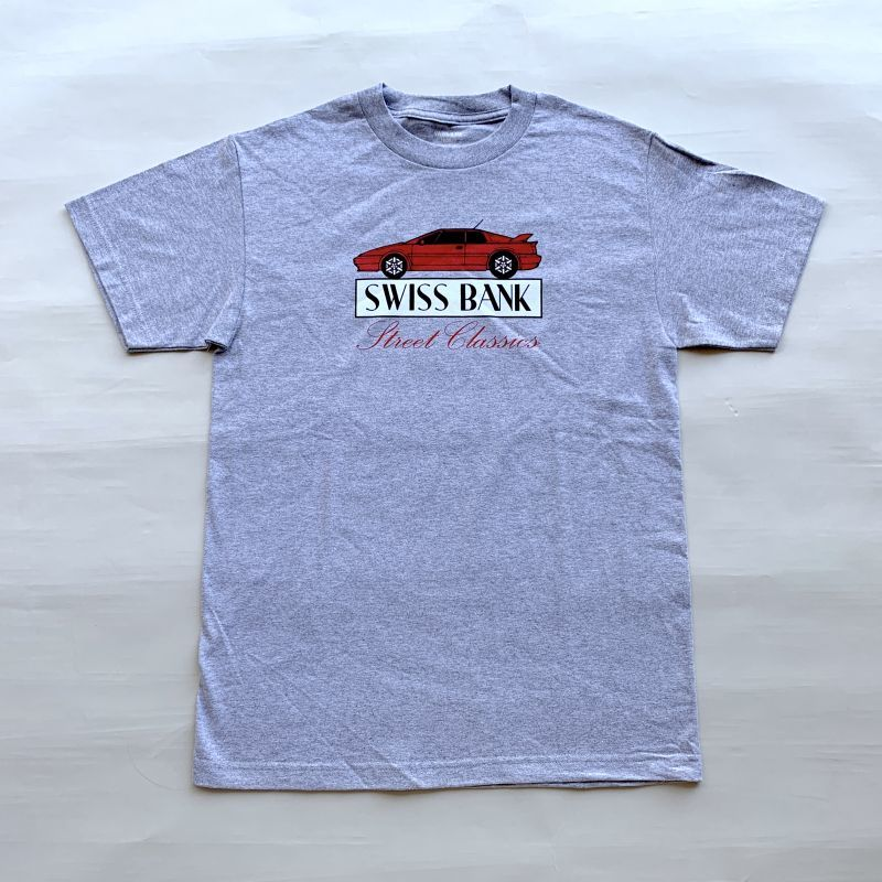 画像1: SWISS BANK / STREET CLASSICS TEE - SPORTS GREY (1)
