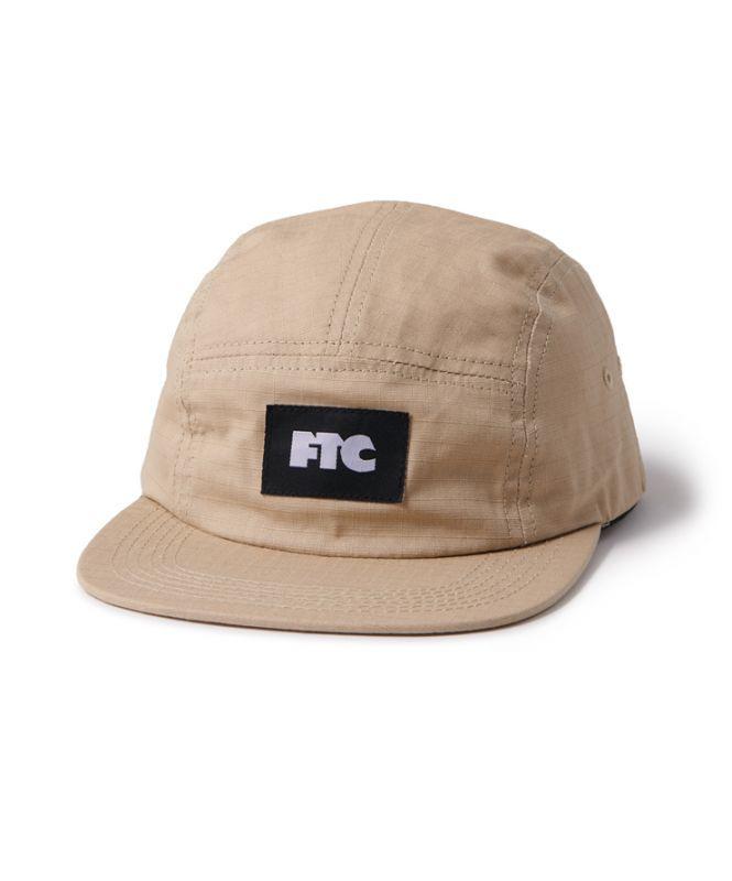 画像1: FTC [エフティーシー] RIPSTOP CAMP CAP - TAN (1)