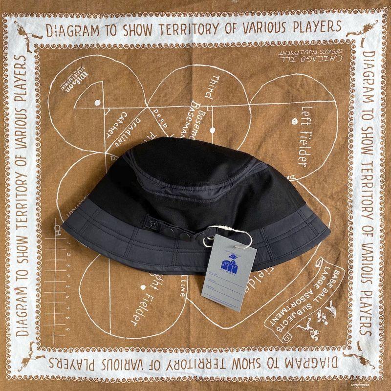 画像1: NOROLL [ノーロール] DOZEN VISOR HAT - BLACK (1)