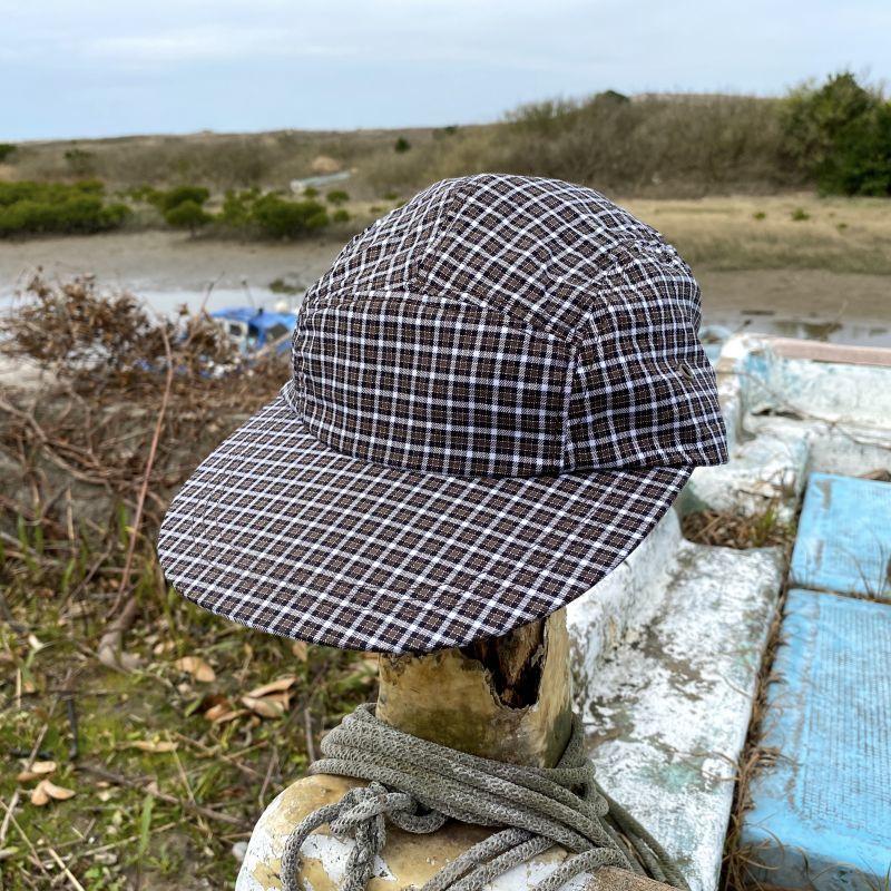 画像1: COMFORTABLE REASON / CAMP CAP - BROWN (1)