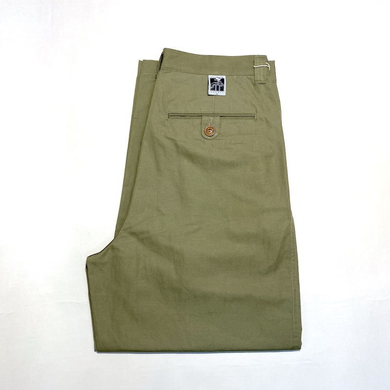 画像1: NOROLL / THICKWALK CHINO - OLIVE (1)