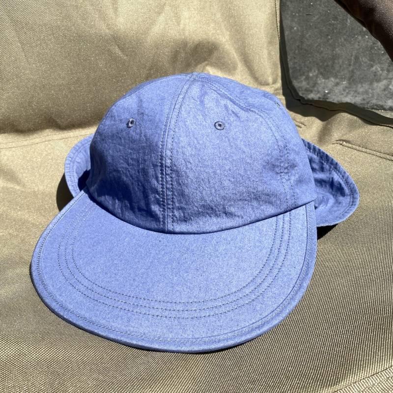 """画像1: NOROLL """"AWING CAP - BLUE"""" (1)"""