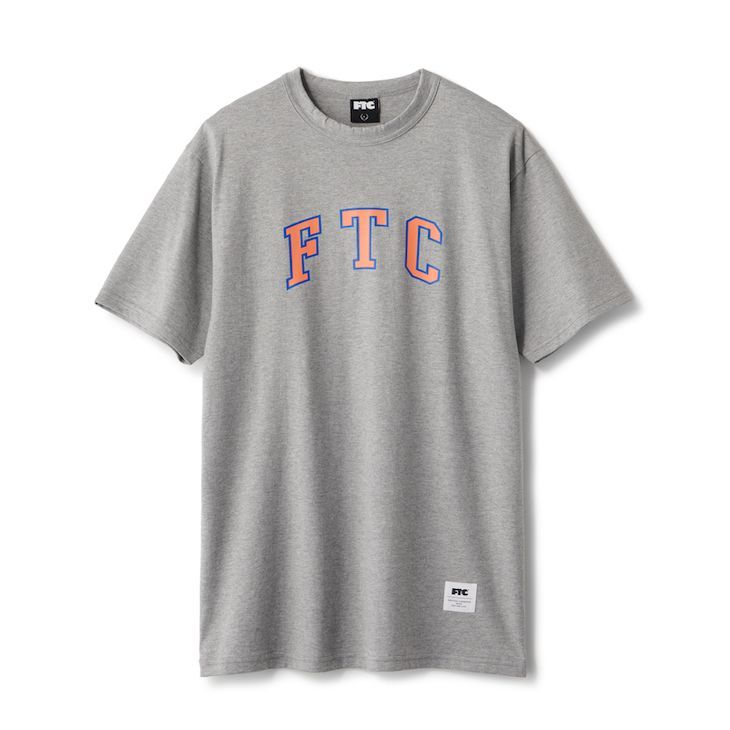 "画像1: FTC ""COLLEGE TEE"" - GRAY (1)"