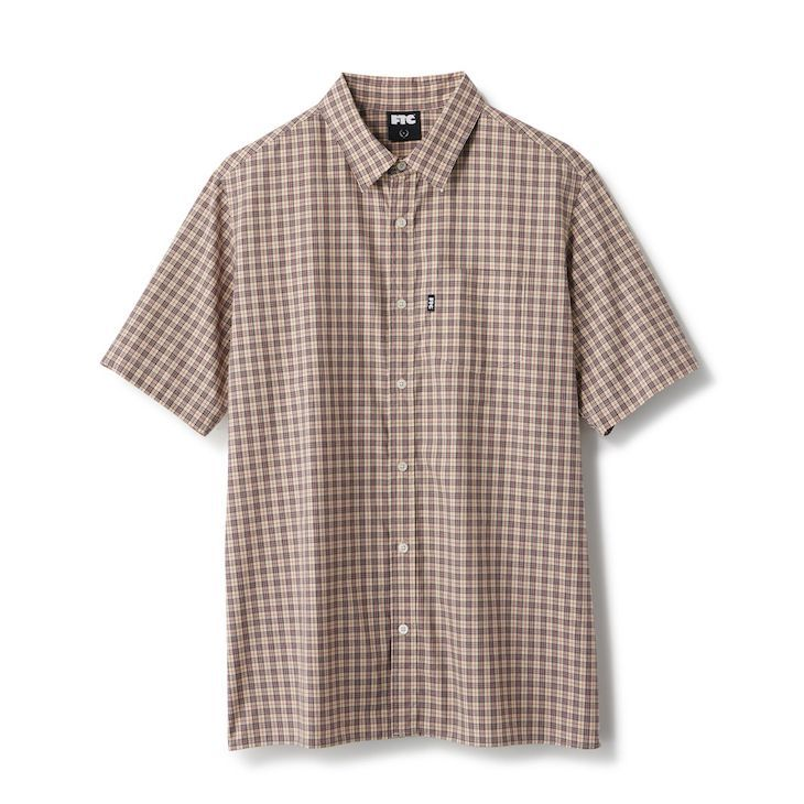 "画像1: FTC ""PLAID SHIRT"" - BEIGE (1)"