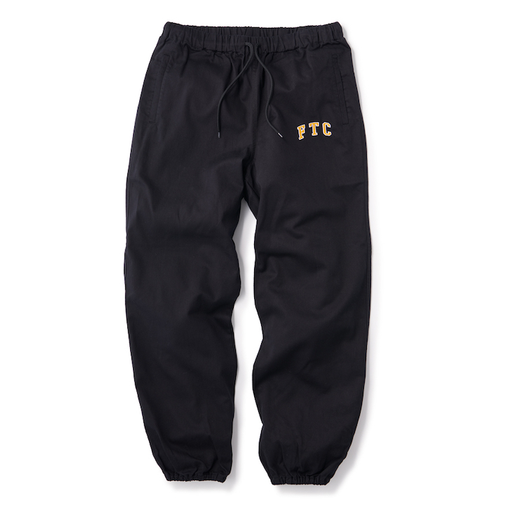 "画像1: FTC ""TWILL EASY PANT"" - BLACK (1)"