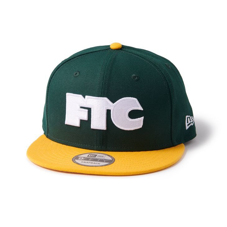 "画像1: FTC ""NEW ERA SNAP BACK"" - GREEN (1)"